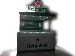 HEINEKEN - PONTO DE VENDA ITINERANTE