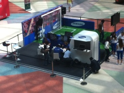 SAMSUNG - STAND COLOMBO