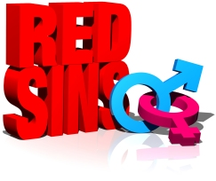 BBEACH - RED SINS - LOGOTIPO