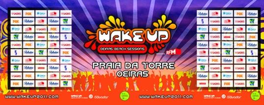 WAKE UP - FESTIVAL DE VERÃO (OEIRAS)