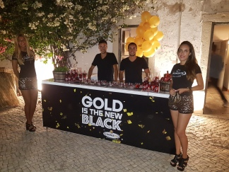 STRONGBOW - GOLD IS THE NEW BLACK